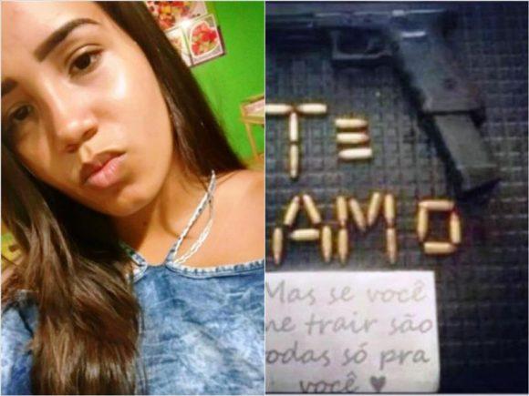 Suspeito de ordenar morte da ex em Porto Seguro já havia compartilhado ameaça com munições: 'Todas pra você'