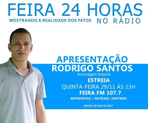 Feira 24 Horas estreia programa de notícias na Rádio Feira FM