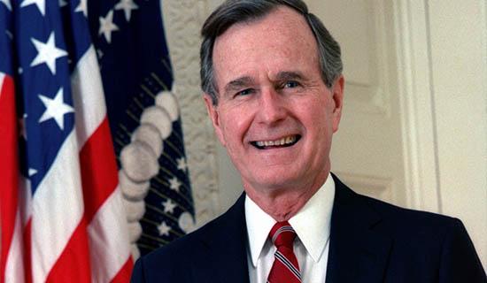 Morre ex-presidente dos Estados Unidos, George H. W. Bush