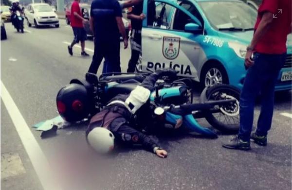 PM morre baleado no Rio, e Bolsonaro cobra leis para 'que o bem vença o mal'