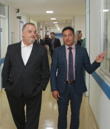 Dr. Luiz Teixeira e o Ex Governador Márcio França