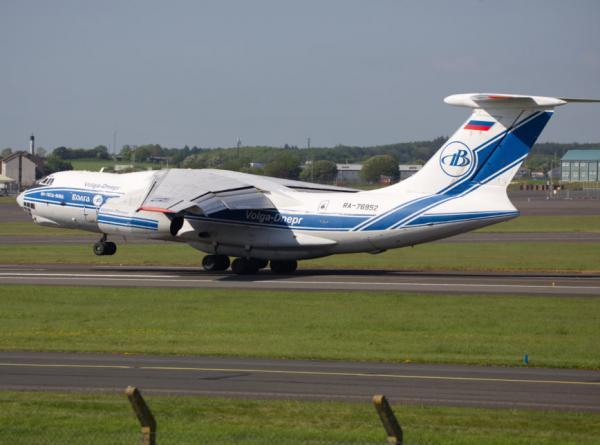 Aeronave do modelo Ilyushin IL-62