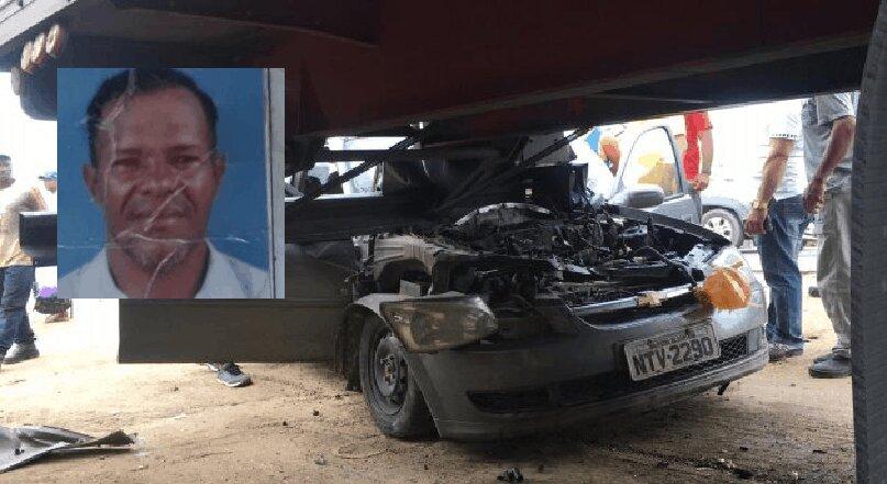 Homem morre após colidir contra traseira de carreta no Anel de Contorno