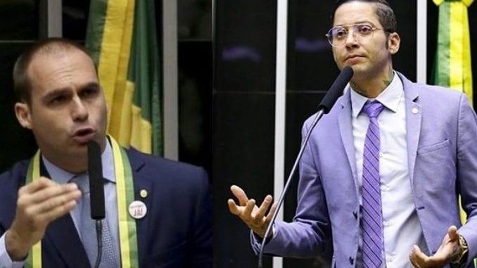 Kannário responde Eduardo Bolsonaro após ser chamado de 'vagabundo'; 'vocês têm que nos aturar'