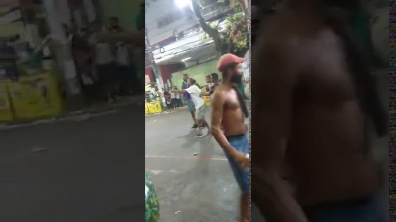 Carnaval de Salvador é marcado por muitas brigas e pancadarias, veja o vídeo